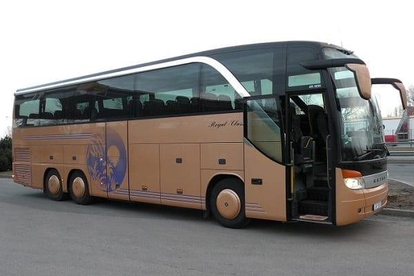 Shore excursion bus rent